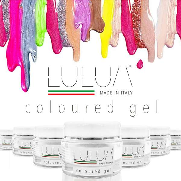 Lulua UV LED System Coloured Gel - 7ml